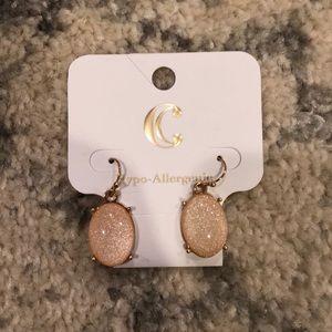 3/$15 Light Pink Oval Earrings